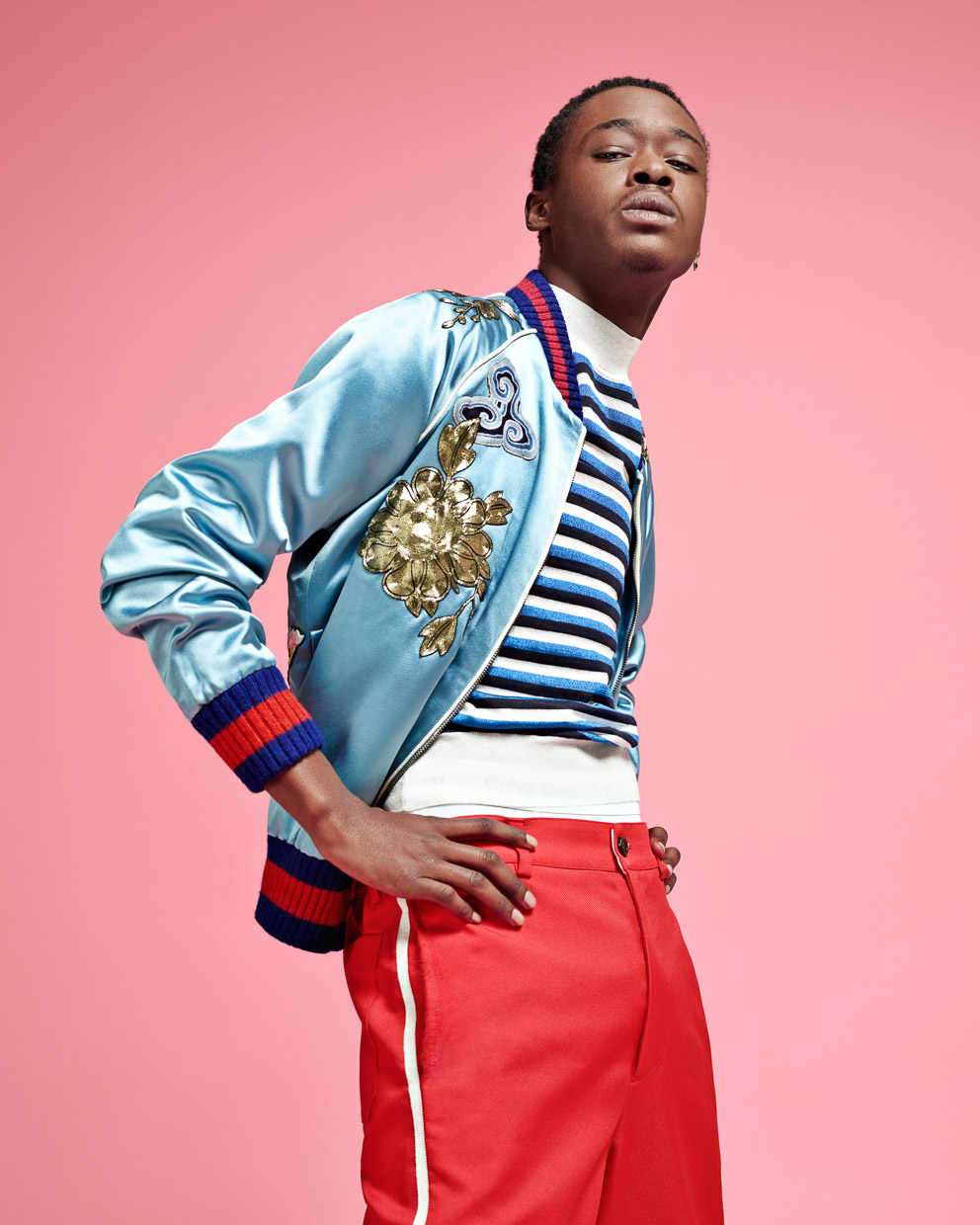 Ashton Sanders. The Guardian.