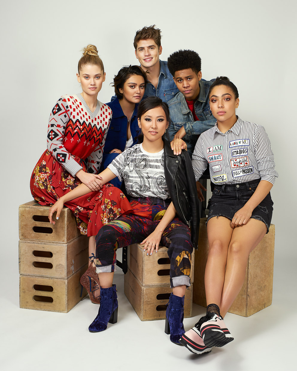 Cast of Marvel's Runaways.
