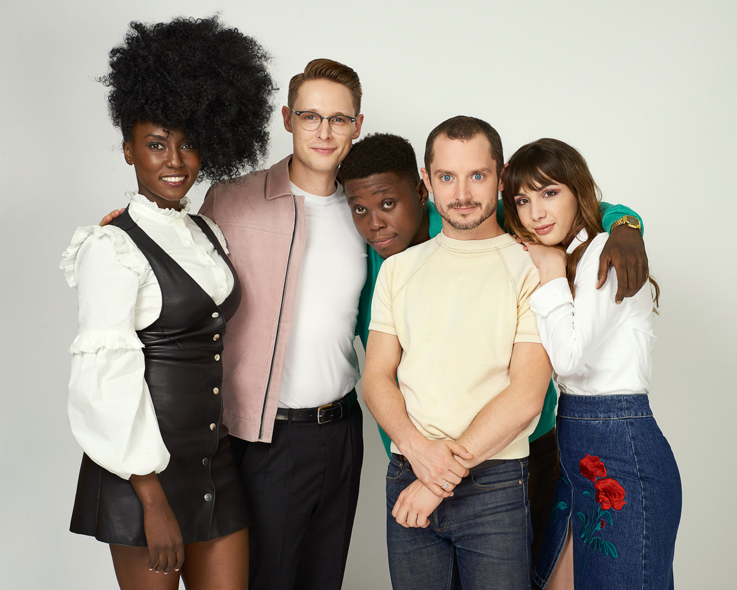 The Cast of Dirk Gently's Holistic Detective Agency.