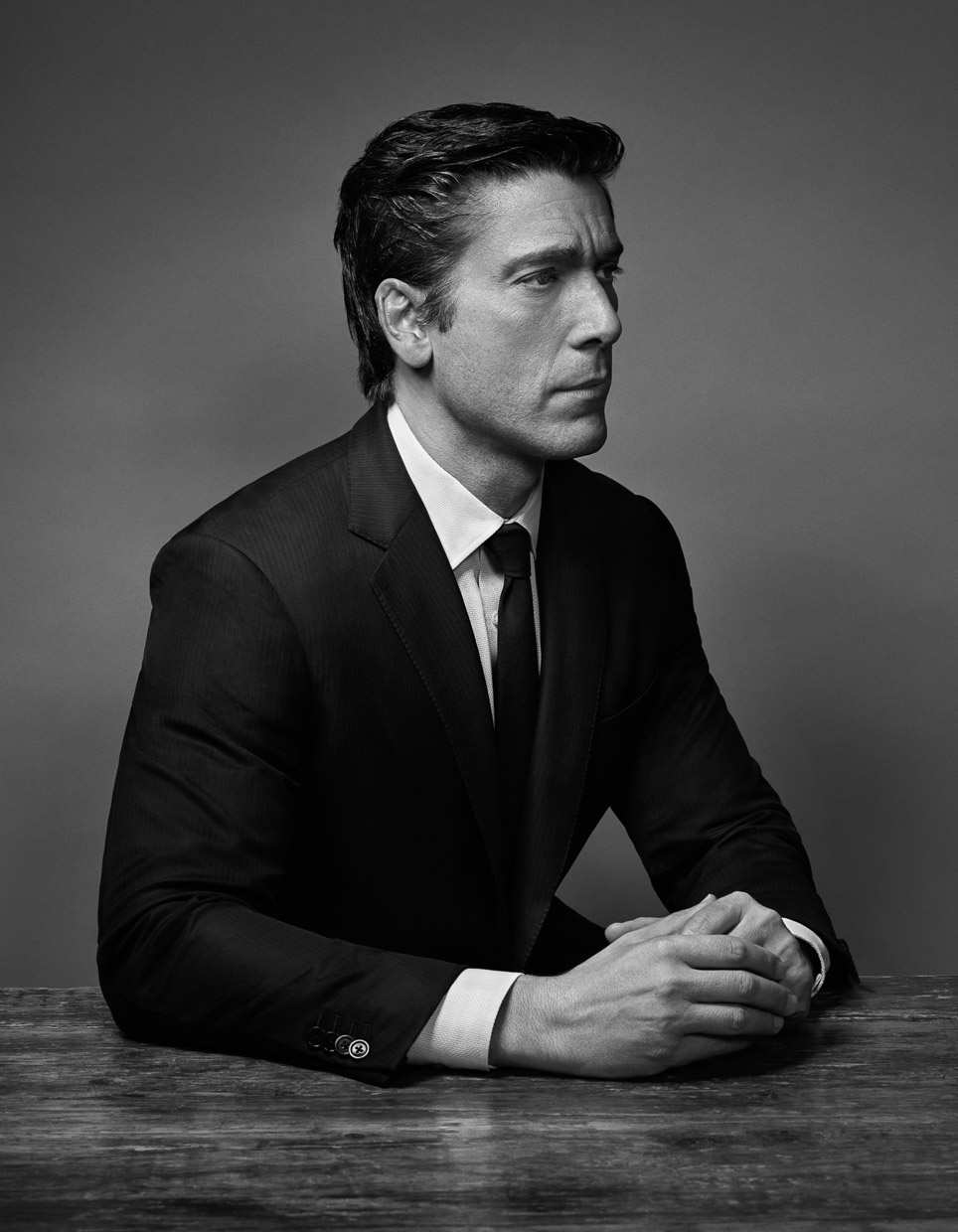 David Muir, news anchor. Variety Magazine.