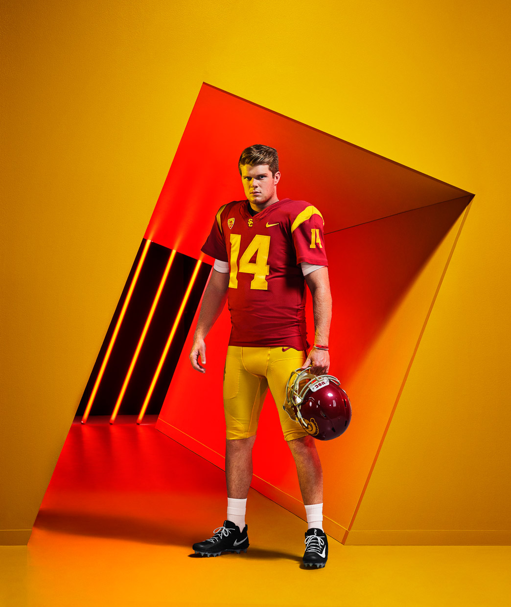 Sam Darnold. ESPN The Magazine.