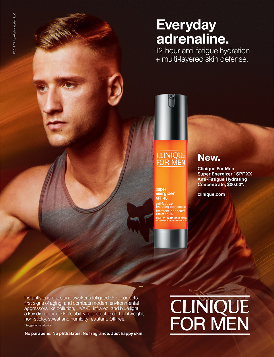 Ken Roczen. Clinique Campaign.