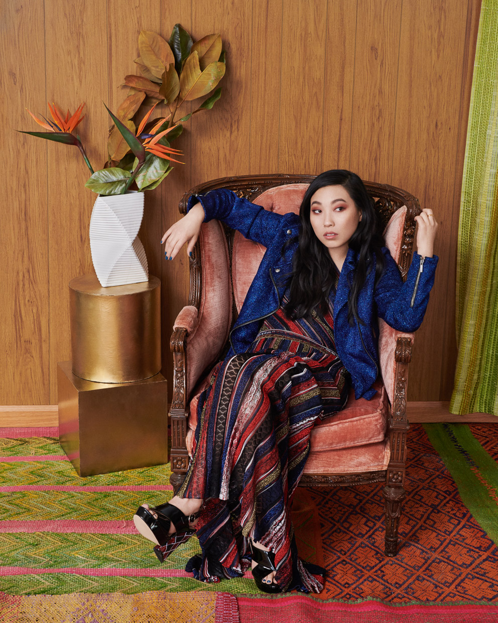 Awkwafina. The Observer.