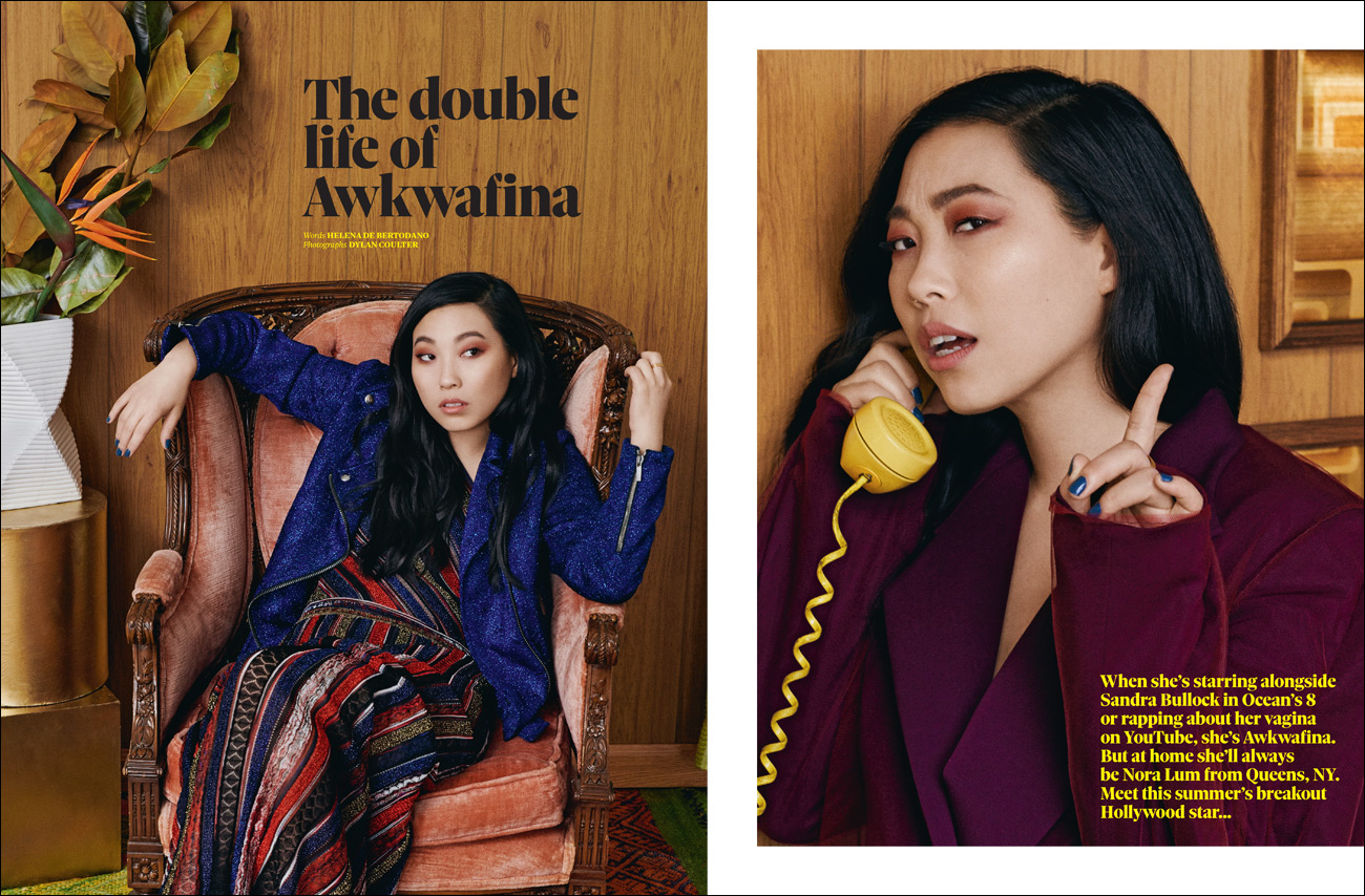 Awkwafina. The Observer Magazine.