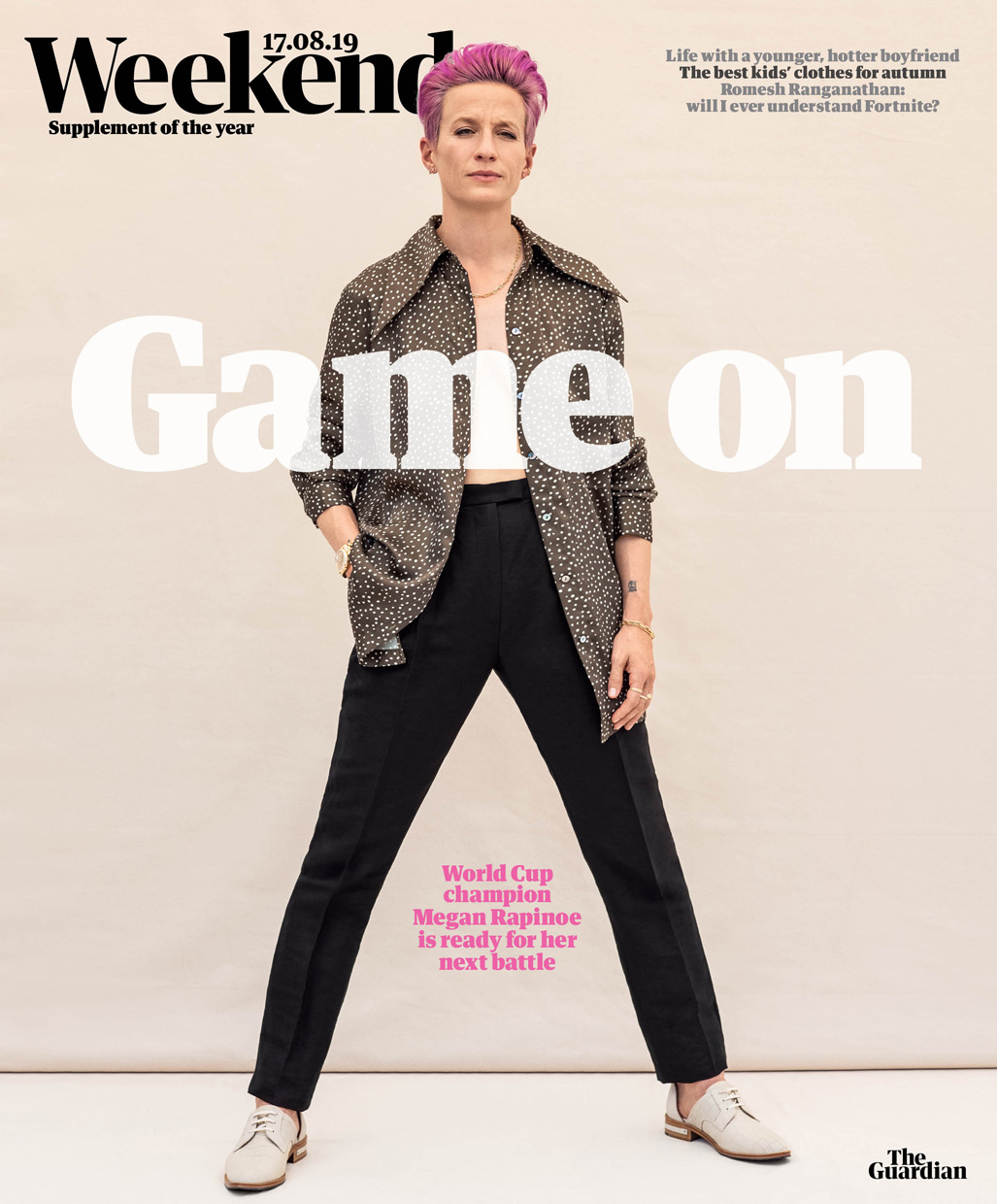 Megan Rapinoe. The Guardian.