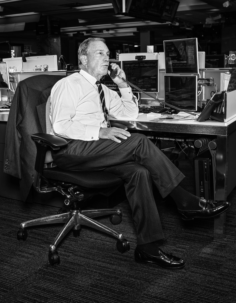 Mike Bloomberg. THR.