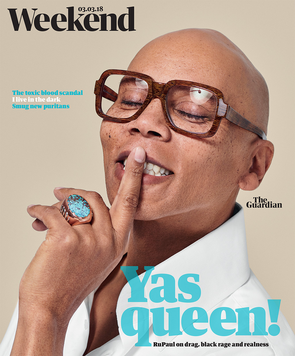 RuPaul. The Guardian Weekend.
